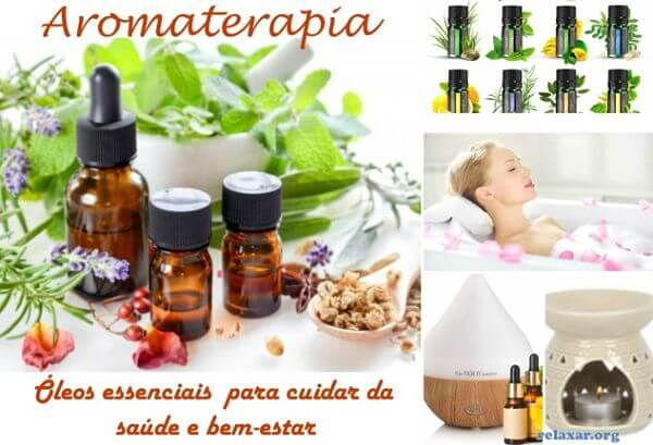 Relaxar Com a Aromaterapia